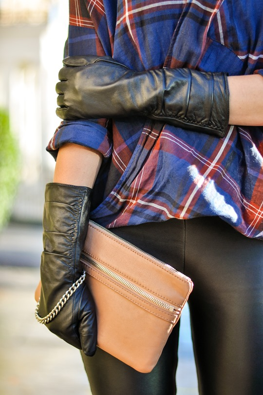 Leather legs | Thankfifi - UK fashion blog by Wendy H Gilmour.