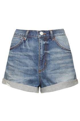 MOTO Rosa Denim Hotpants - Denim Shorts - Shorts - Clothing- Topshop USA