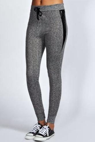 pants gris american apparel