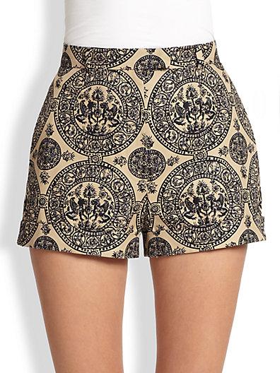 Valentino - Medallion-Print Shorts - Saks.com