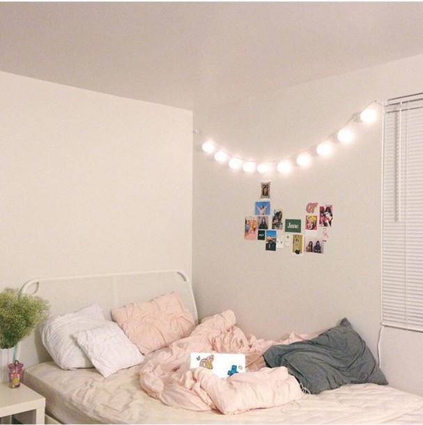Home Accessory: Bedroom Lights, Bedroom, Lights, Tumblr