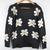 New Girls Women Daisies Print Pullover Sweater Sunflower Jumper Knit Coat Tops | eBay
