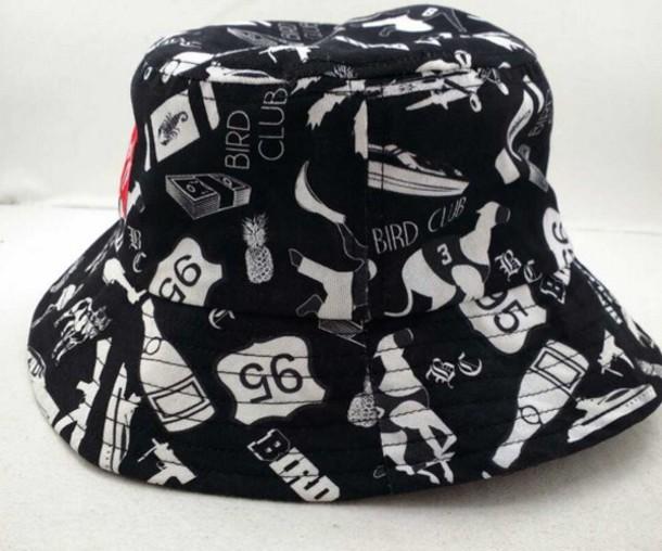 hat bucket hat dope printed bucket hat