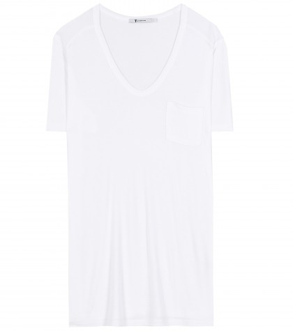 mytheresa.com -  Classic jersey T-shirt  - Short-sleeved - Tops - Clothing - Luxury Fashion for Women / Designer clothing, shoes, bags