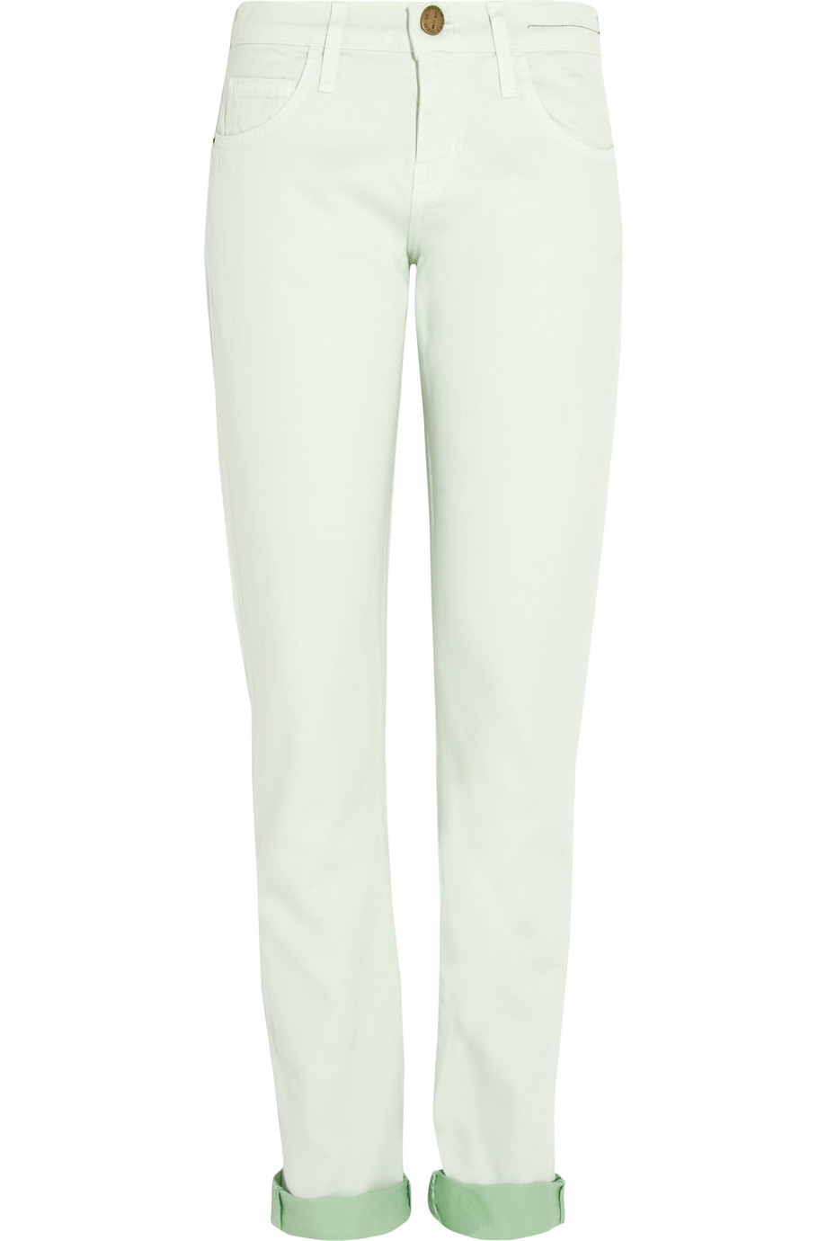 The Roller mid-rise straight-leg jeans | THE OUTNET