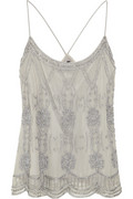 Monica beaded mesh top | W118 by Walter Baker | THE OUTNET