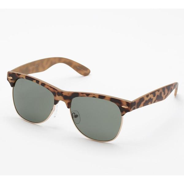 LC Lauren Conrad Retro Round Sunglasses - Polyvore