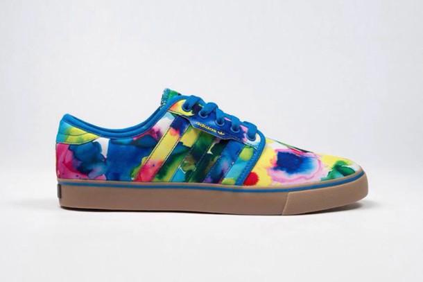 shoes adidas hvw8 tie dye
