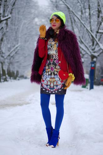 macademian girl jacket t-shirt skirt shoes hat bag sunglasses belt jewels