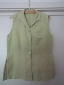 Ärmellose Bluse von Hirsch, hellgrün   eBay Kleinanzeigen mobil