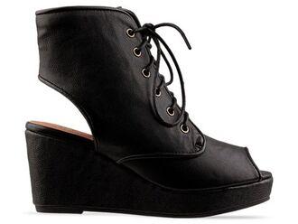 jeffrey campbell peep toe lace up wedges lace campbell heel shoes similiar black shoes grey shoes