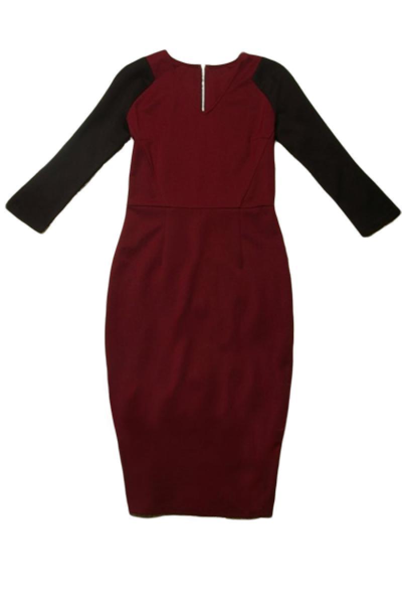 New V Neck Slim Sexy Splicing Dress,Cheap in Wendybox.com