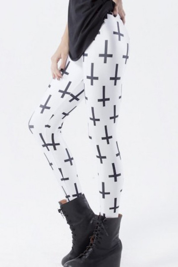 leggings kcloth cross leggings