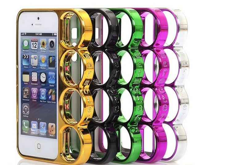 HO US Fashion Lord Rings Knuckles Finger Phone Frame Case Cover for iPhone 4 5S | eBay