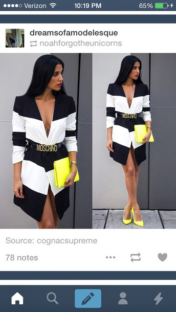 coat fashion style trench coat trendy stripes black dress black jacket high-low dresses long dress button up blouse button jacket