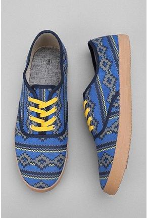 Aztec Printed Plimsoll Sneaker ($20-50) - Svpply