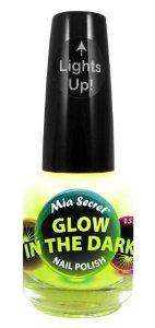 Amazon.com : Mia Secret Glow In The Dark Neon Nail Lacquer Nail Polish GD-02 Citron Pop Neon Yellow : Made In Usa : Beauty