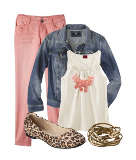 blouse pants shoes shirt jacket