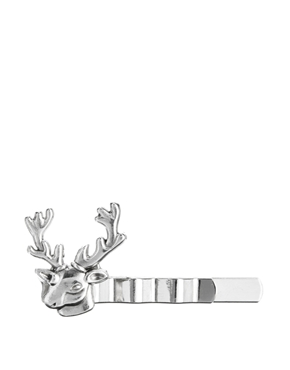 Tally & Hoe | Tally & Hoe Stag Tie Bar at ASOS