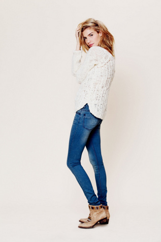 free people womens lightweight stretch skinny