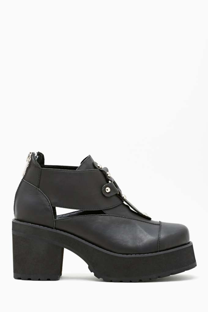 UNIF Lost Sole Platform Boot in  Shoes Boots at Nasty Gal