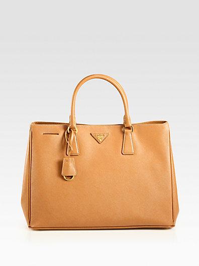 Prada - Saffiano Lux Tote Bag - Saks.com