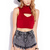 Striking Crop Top | FOREVER21 - 2000066137