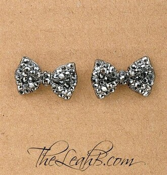 jewels earrings earings studs bow jewelry accessories girly tumblr girl wow bow earrings