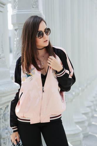 style scrapbook blogger jacket bag shoes pants sunglasses