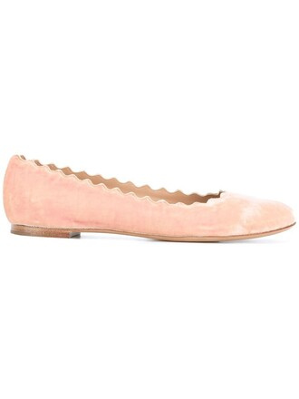women leather velvet purple pink shoes