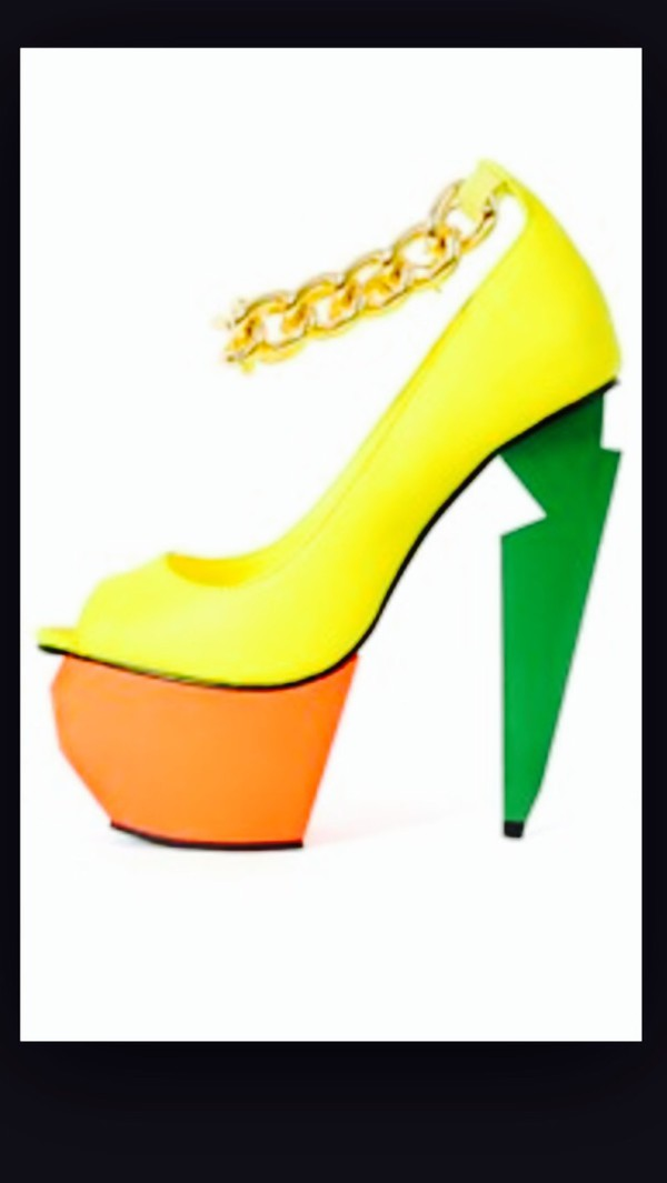 shoes heels on gasoline heels sexy jeans leather spikes neon yellow high heels choker necklace necklace
