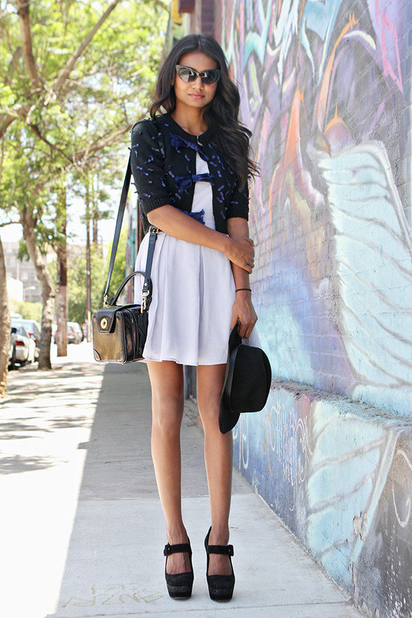 tuolomee dress sweater shoes sunglasses hat