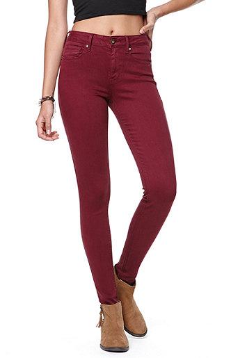 Bullhead Denim Co High Rise Colored Skinniest Jeans at PacSun.com