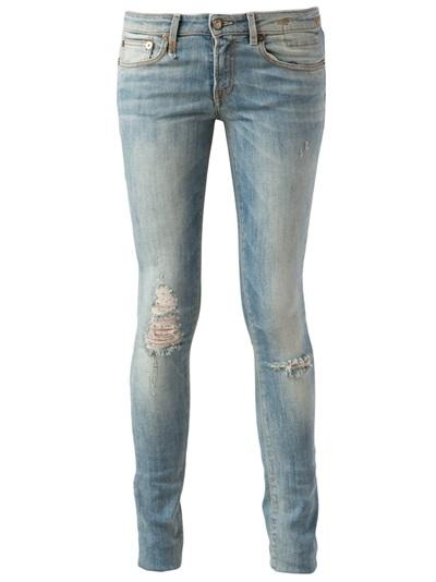 R13 Skinny Jeans - Hirshleifers - Farfetch.com