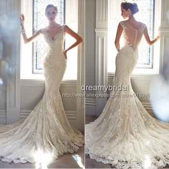 pearls wedding dresses | Wedding