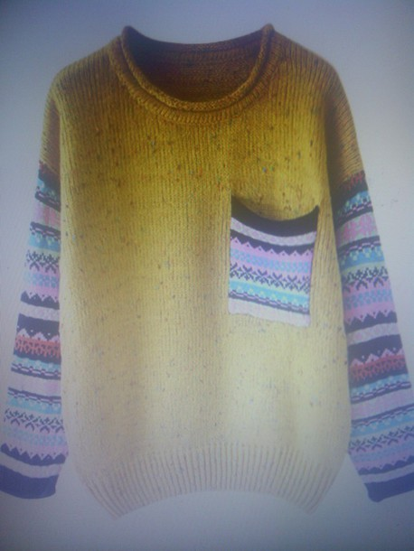 sweater old man sweater knitted sweater pullover