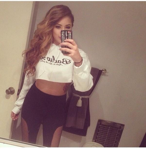 pants net mesh jasmine villegas leggings yoga pants jacket sweatshirt