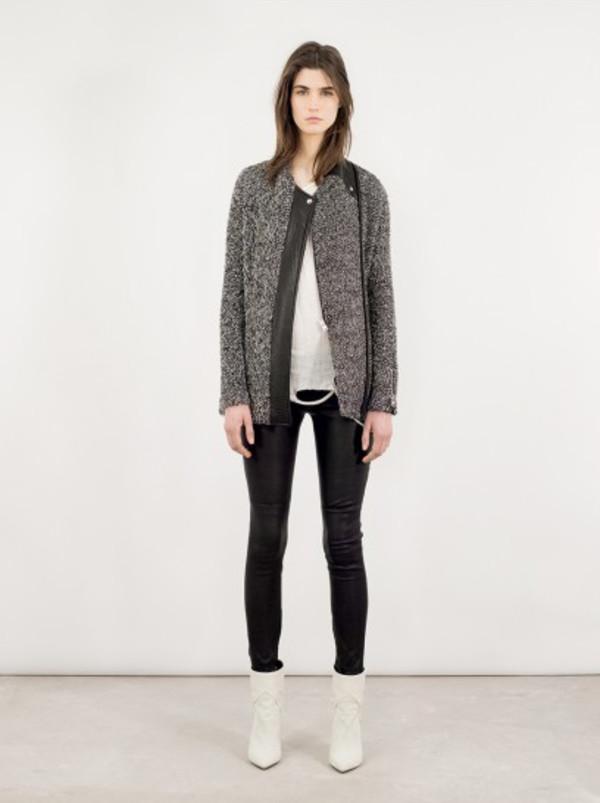 jacket fashion iro lookbook shoes pants