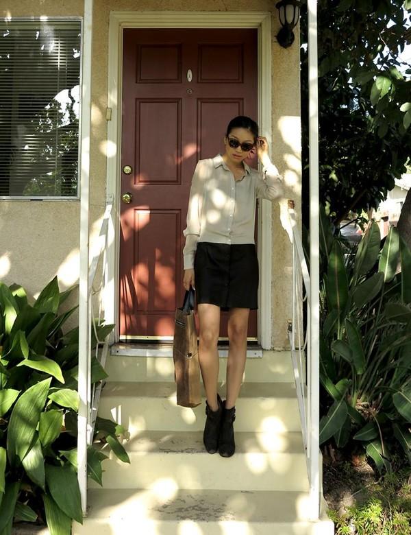dance in my closet dress shoes bag sunglasses