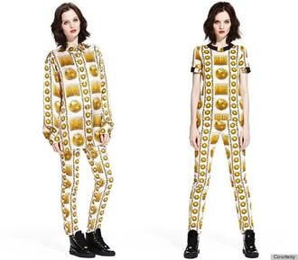 pants versace gold combinaison chemise? t-shirt blouse
