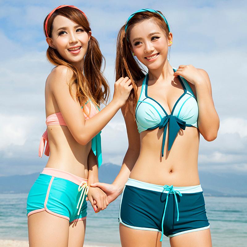 2013 small push up bikini women's swimwear swimsuit hot springs-inBikinis Set from Apparel & Accessories on Aliexpress.com