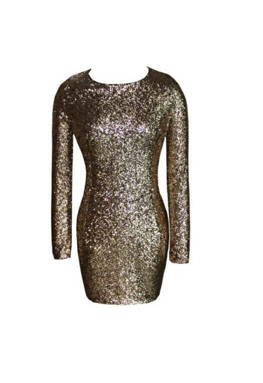 Free Shipping Sexy strapless sequin dress hollow back-in Dresses from Apparel & Accessories on Aliexpress.com