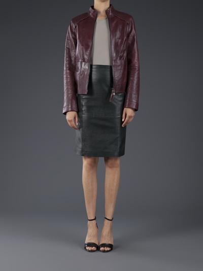 Beryll Leather Jacket - Elizabeth Charles - Farfetch.com