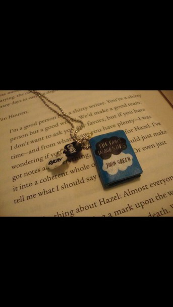 jewels necklace the fault in our stars the fault in our stars