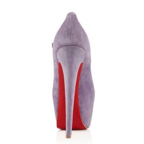 sale red bottom heels-christian louboutin Lady Highness 160mm pumps lilac suede