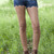 Scallop Denim Shorts with Belt | Obsezz