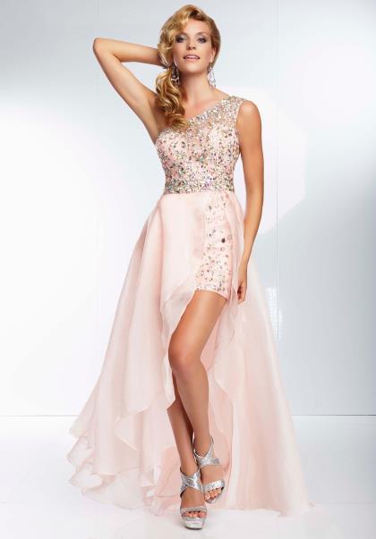 Mori Lee Prom Dress 2014 95054 at Peaches Boutique