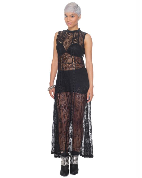 COLETTE Lace Maxi Dress – FLYJANE