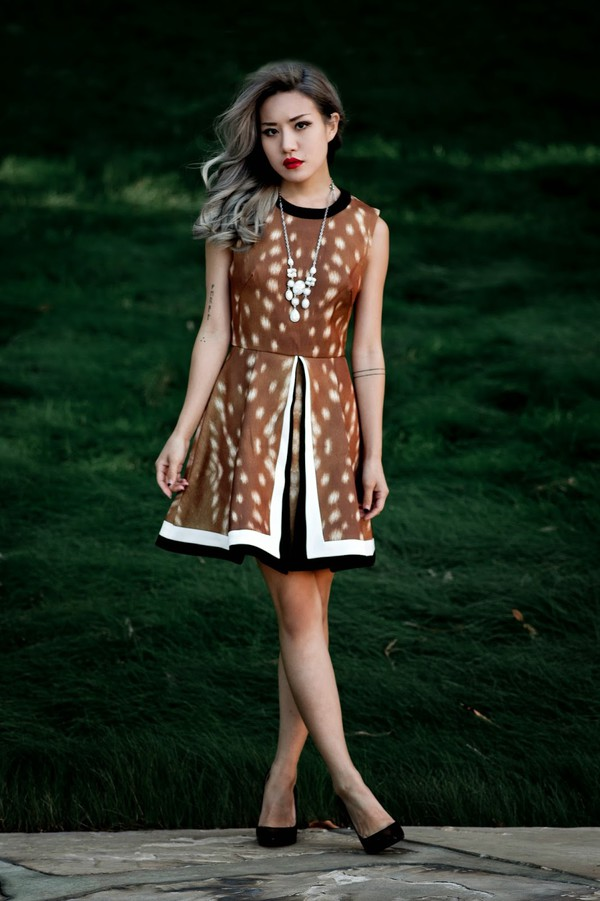 feral creature jewels jeans shoes make-up dress