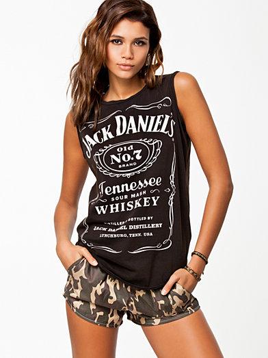 Print Sl Jack D Tank - River Island - Black - Tops - Clothing - Women - Nelly.com Uk